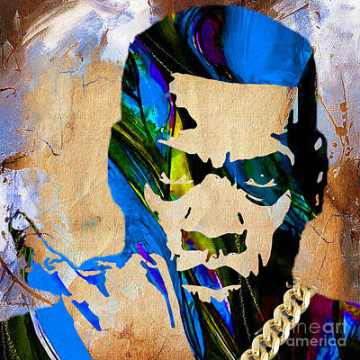 Jay Z Collection Print by Marvin Blaine
