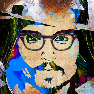 Johnny Depp Collection Print by Marvin Blaine