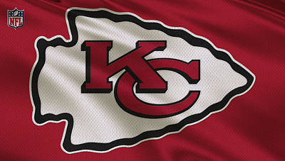 Kansas City Chiefs Uniform Print by Joe Hamilton