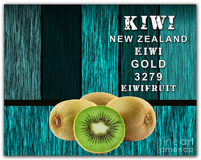 Kiwi Farm Print by Marvin Blaine