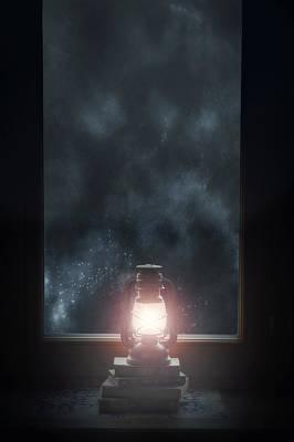 Window Sill Photograph - Lantern by Joana Kruse