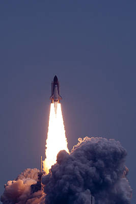 Travel Destinations Photograph - Launch Of Endeavour Sts134 by Celso Diniz
