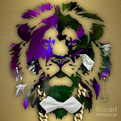Lion Collection Print by Marvin Blaine