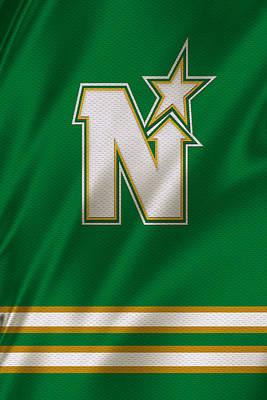 Skate Photograph - Minnesota North Stars by Joe Hamilton