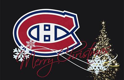 Canadiens Photograph - Montreal Canadiens by Joe Hamilton