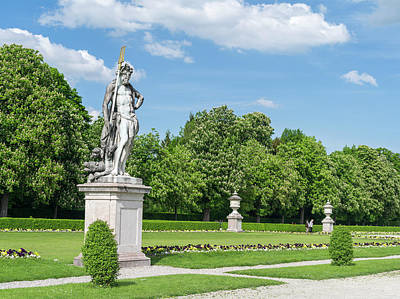 Nymphenburg Palace And Park In Munich Print by Martin Zwick