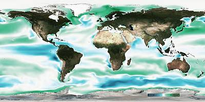 Co2 Photograph - Ocean-atmosphere Co2 Exchange by Noaa