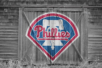 Baseball. Philadelphia Phillies Photograph - Philadelphia Phillies by Joe Hamilton