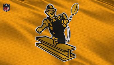 Steelers Photograph - Pittsburgh Steelers Uniform by Joe Hamilton