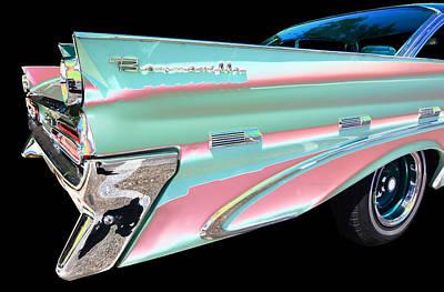 1959 Pontiac Bonneville Photograph - Pontiac by Allan Price