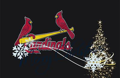 Present Photograph - St Louis Cardinals by Joe Hamilton