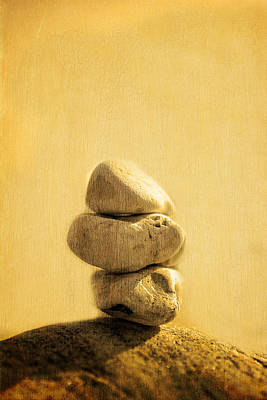 Stones On Canvas Original by Toppart Sweden