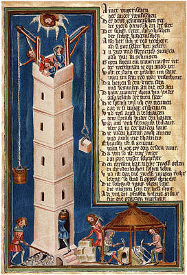 Tower Of Babel Print by Granger