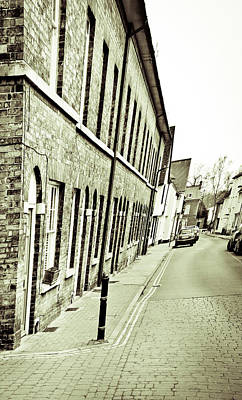 Town Houses Print by Tom Gowanlock