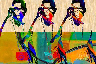 Usher Print by Marvin Blaine