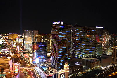 Eiffel Photograph - View From Eiffel Tower In Las Vegas - 01132 by DC Photographer