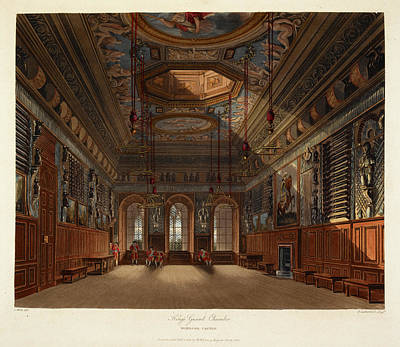 Windsor Castle Print by British Library