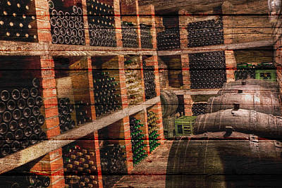Cellar Photograph - Wine by Joe Hamilton