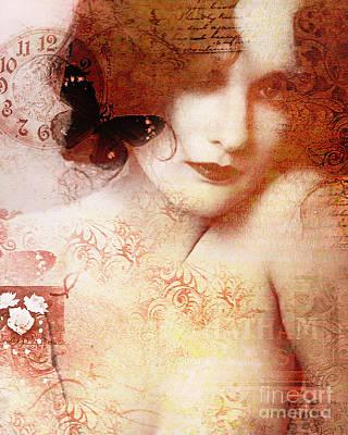 Showgirls Digital Art - Winsom Women by Chris Andruskiewicz