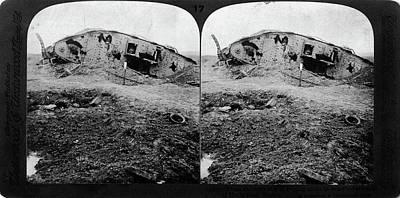 World War I Battlefield Print by Granger