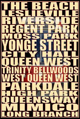 501 Streetcar Toronto Print by Andrew Fare
