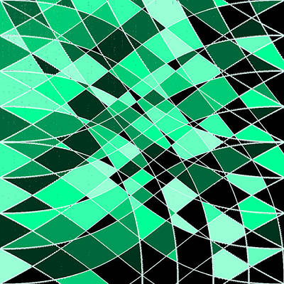 Black Background Digital Art - 5120.1.8 by Gareth Lewis