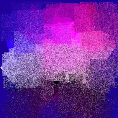 Turquoise Digital Art - 5120.5.37 by Gareth Lewis