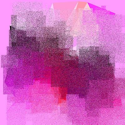 Red Digital Art - 5120.5.7 by Gareth Lewis