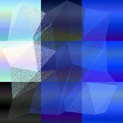 Geometry Digital Art - 5120.6.37 by Gareth Lewis