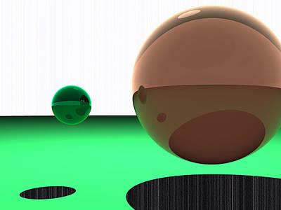 Turquoise Digital Art - 5120x3840.1.14 by Gareth Lewis