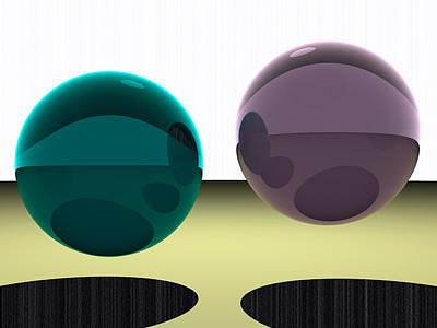 Turquoise Digital Art - 5120x3840.1.42 by Gareth Lewis