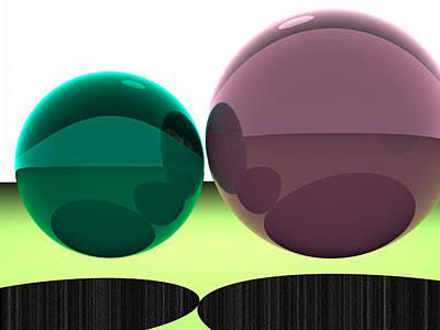 Turquoise Digital Art - 5120x3840.1.46 by Gareth Lewis