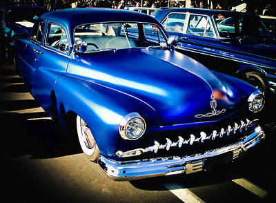 Phil Motography Clark Photograph - 52 Ford Mercury by Phil 'motography' Clark