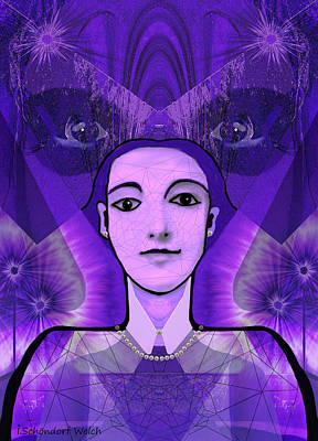 Digi-art Digital Art - 533 -   Watching   by Irmgard Schoendorf Welch