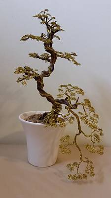 #55 Forever Sageretia Theezans Wire Tree Sculpture Original by Ricks  Tree Art