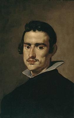 Self Portrait Photograph - Velazquez, Diego Rodr�guez De Silva by Everett