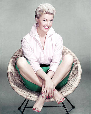 Doris Day Print by Silver Screen