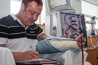 Empowering Photograph - Shared Care Dialysis Unit by Life In View
