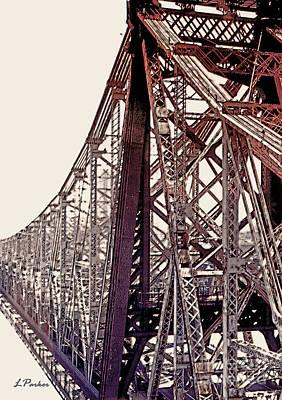 59th Street Bridge - Nyc Print by Linda  Parker