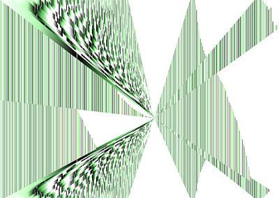 Black Digital Art - 5x7.s.6.27 by Gareth Lewis