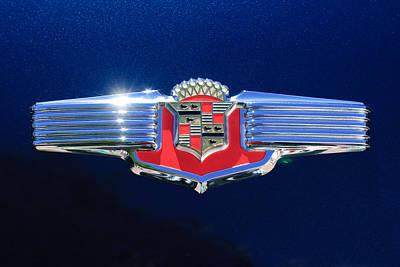 1941 Cadillac Emblem Print by Jill Reger