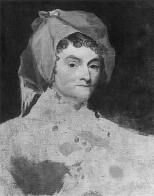 American First Lady Painting - Abigail Adams (1744-1818) by Granger