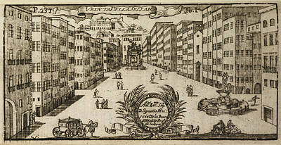 Napoli Photograph - An Illustration Of 18th Century Naples by British Library