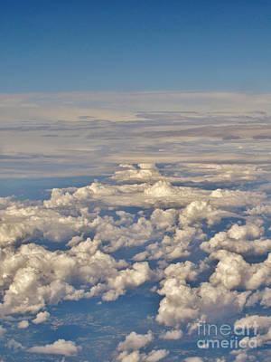 Arial View Photograph - Arial Views by Bozena Simeth