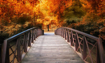 Autumn Crossing Print by Jessica Jenney