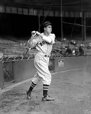 Red Sox Photograph - Baldomero M. Mel Almada by Retro Images Archive