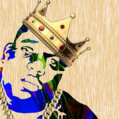 Biggie Collection Print by Marvin Blaine