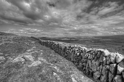 Burren Stone Wall Original by John Quinn