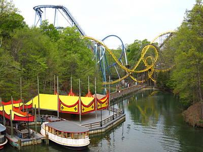 Busch Gardens - 12122 Print by DC Photographer
