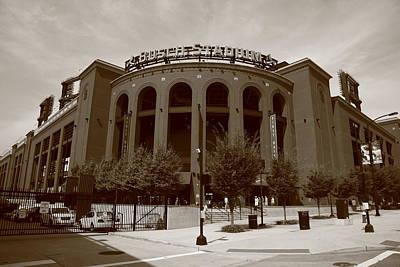 Baseball Art Photograph - Busch Stadium - St. Louis Cardinals by Frank Romeo